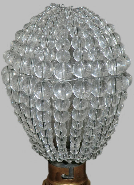 Chandelier Bead Light bulb GLS Clear Glass Cover Sleeve Lampshade Alternative 7