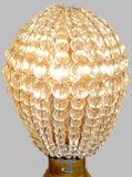 Chandelier Bead Light bulb GLS Clear Glass Cover Sleeve Lampshade Alternative 8