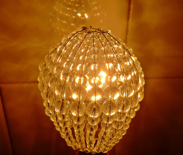 Chandelier Bead Light bulb GLS Clear Glass Cover Sleeve Lampshade Alternative 9