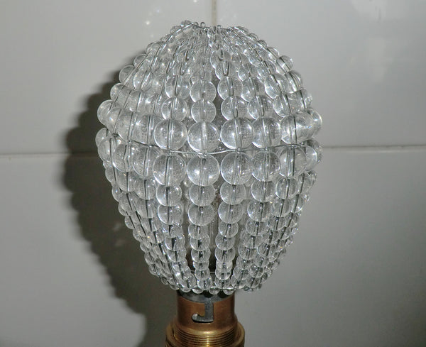 Chandelier Bead Light bulb GLS Clear Glass Cover Sleeve Lampshade Alternative 10