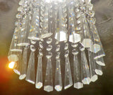 Clear Cut Glass Icicles 72 mm / 3 inch Chandelier Crystals Drops Beads Droplets Prisms Transparent Pendants 7