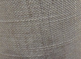 "Grey Hessian Linen Clip On Candle Lampshade 5.5"" Chandelier Pendant Light Shade 3"