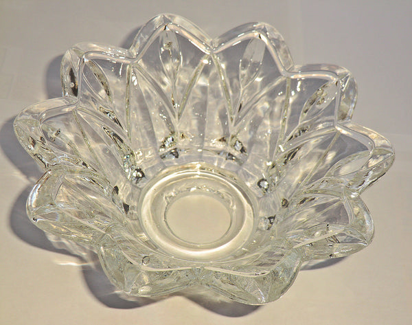 Bobeche Chandelier Light Bowl Drip Pan Deep Dish 26mm Centre Hole 3