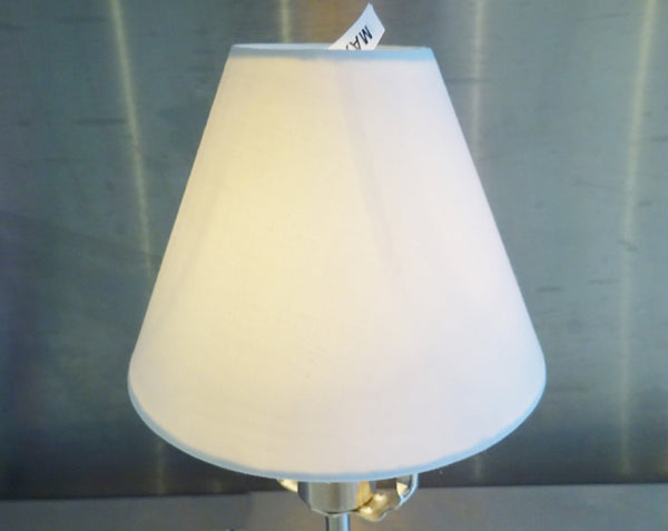 Brilliant White Clip On Candle Lampshade 5 Inch Diameter Chandelier Shade Classic 4