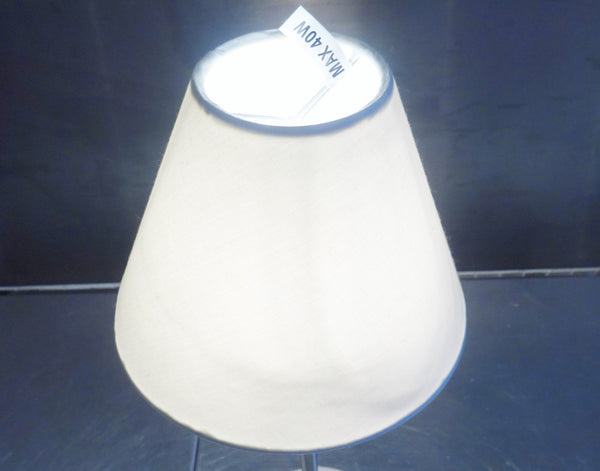 Brilliant White Clip On Candle Lampshade 5 Inch Diameter Chandelier Shade Classic 5