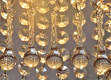 Clear Glass Teardrop Orbs 53 mm / 2 inch Chandelier Crystals Droplets Beads Drops Pendant Droplets Transparent 4