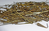 300 Antique Brass Chandelier Arrow Fan Clasps Links for Droplets Crystals Drops 5