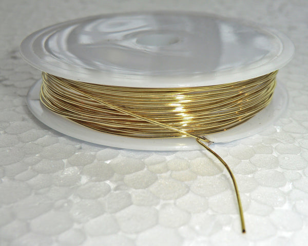 6 Metre Reel Brass Chandelier Wire Links for Droplets Crystals Drops 3