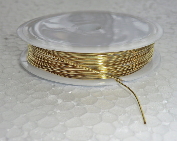 6 Metre Reel Brass Chandelier Wire Links for Droplets Crystals Drops 4