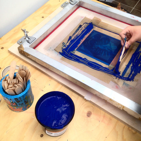 SCREEN PRINT Workshops - For Beginners 2019 DATES TBC