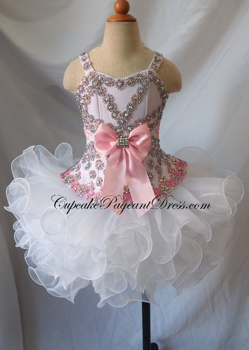 Infant//toddler//kids//baby//Girl/'s Pageant//prom//formal Dress size1-size7  G040