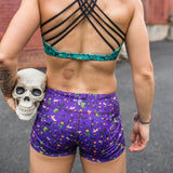 HALLOWEEN Double Take Booty Shorts (Purple-2018 Edition)