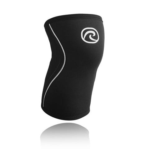 REHBAND RX KNEE SUPPORT 7MM BLACK LINE
