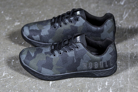 Dark Camo Trainer (Womens)