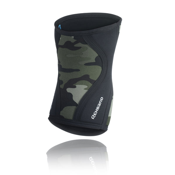 REHBAND RX KNEE SUPPORT 5MM CAMO BLACK