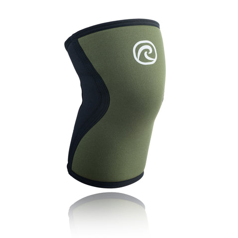 REHBAND RX KNEE SUPPORT 5MM BLACK GREEN