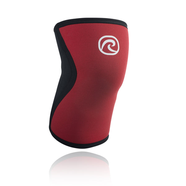 REHBAND RX KNEE SUPPORT 5MM RED BLACK