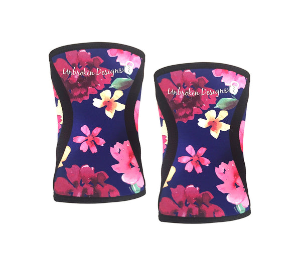 Flower Power Knee Sleeves