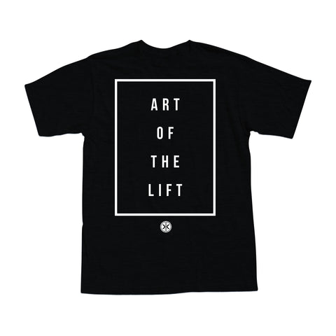 ART OF THE LIFT - Black Men's Tee