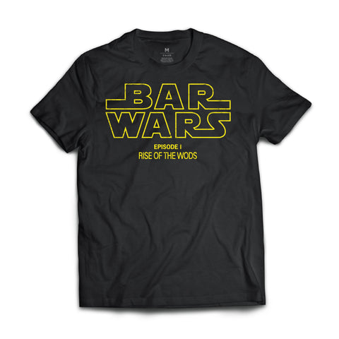 Bar Wars Core (Galaxy Black) - Tee