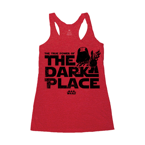 The Dark Place (Galactic Red) - Racerback Tank