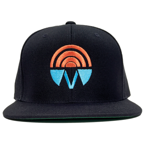 Good Vibrations Black Fitted Hat
