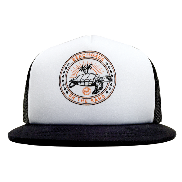 Michelangelo White/Black Trucker Hat