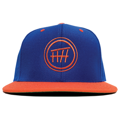 BeacHHaus Shack Blue/Orange Snap Back Hat