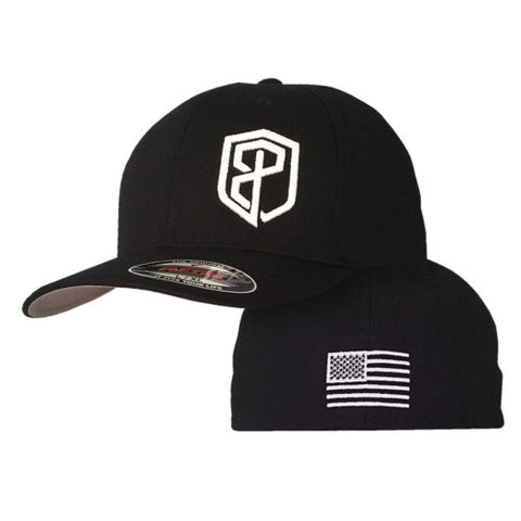 Logo FlexFit Hat (Black)