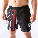 Training Shorts (Thin Red Line)