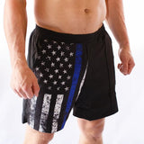 Training Shorts (Thin Blue Line)