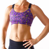 HALLOWEEN Moxie Sports Bra (Purple-2018 Edition)