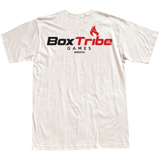 BoxTribe Games Crest Tee (Heather White)
