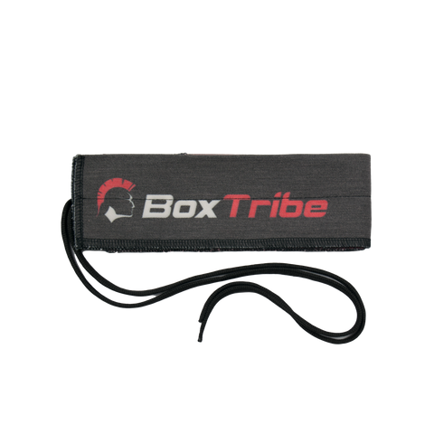 BoxTribe Wrist Wraps - Black & Red
