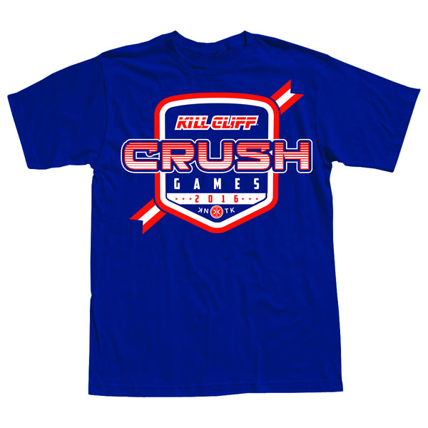 2016 KILL CLIFF CRUSH GAMES OFFICIAL JERSEY