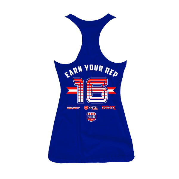 2016 KILL CLIFF CRUSH GAMES OFFICIAL JERSEY TANK