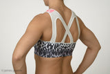 """The Amy"" 2.0 Chestee Sports Bra in Leopard"