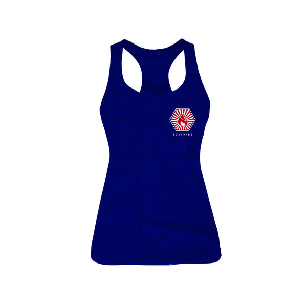 FEEL THE BURN - Women's Racerback Tank
