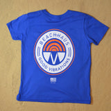 Youth Good Vibrations Royal Blue Crew