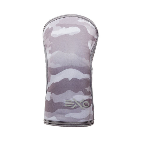 GREY CAMO - 5MM KNEE SLEEVES
