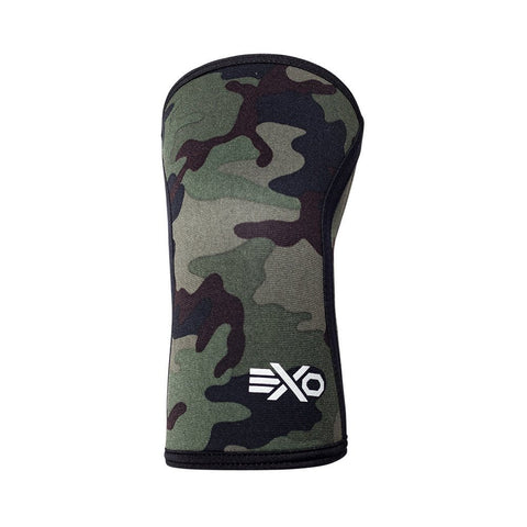 GREEN CAMO - 7MM KNEE SLEEVES