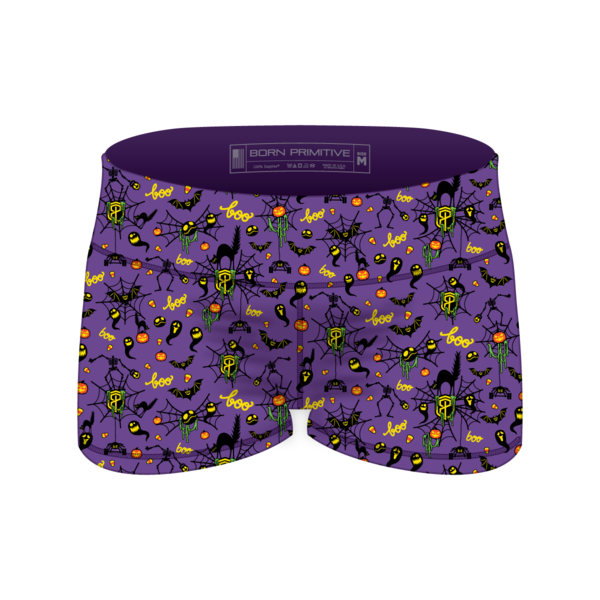 PRE-ORDER!! HALLOWEEN Double Take Booty Shorts (Purple-2018 Edition)