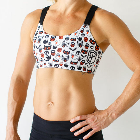 HALLOWEEN Moxie Sports Bra - PRE-ORDER for 9/30