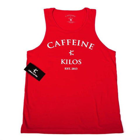 New School Men's Tank - Red