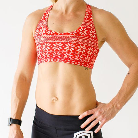 Sweater Weather Vitality Sports Bra