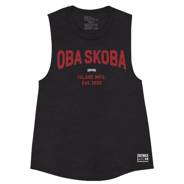 OBA SKOBA Core Muscle Tank (Black) - Women's