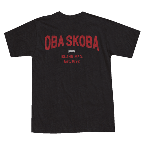 OBA SKOBA Core Tee (Black) - Men's