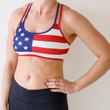 Rhapsody Sports Bra (Old Glory)