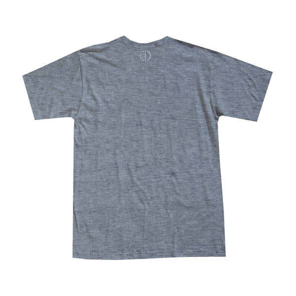 PATCHWORK - Heather Grey Men's Tee