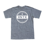 THE PATCHWORK TEE - Heather Grey Men's Tee